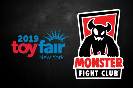Monster Fight Club at New York Toy Fair