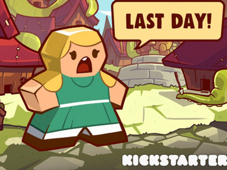 Tentacle Town Kickstarter ends today!