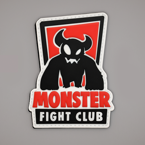 Monster Fight Club soft rubber patch