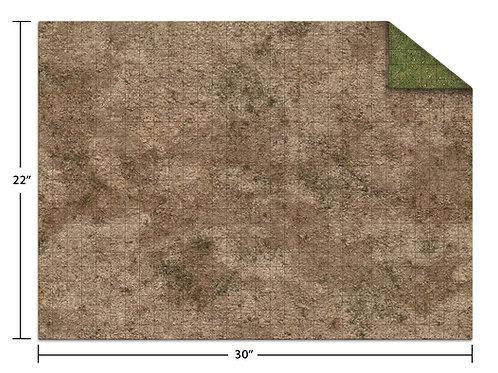 """22x30"""" Adventure Mat - Broken Grassland / Desert Scrubland"""