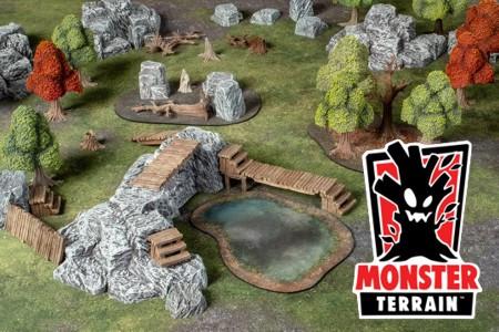 Monster Terrain Kickstarter Live Wednesday, April 17 at 3PM EDT