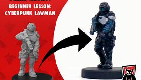 Monster Paint Club: Cyberpunk Lawman