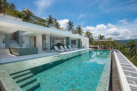 Villa Zest at Lime Samui infinity pool and Sala