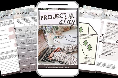 Project Slay Worksheet Bundle