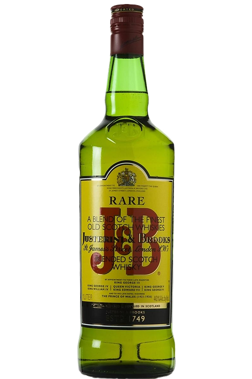 J & B BLENDED SCOTCH WHISKY