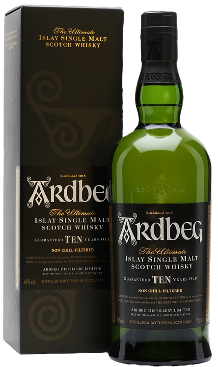 ARDBEG ISLAY SINGLE MALT SCOTCH WHISKEY