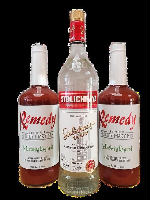 Bloody Mary Kit w/ STOLICHNAYA Vodka