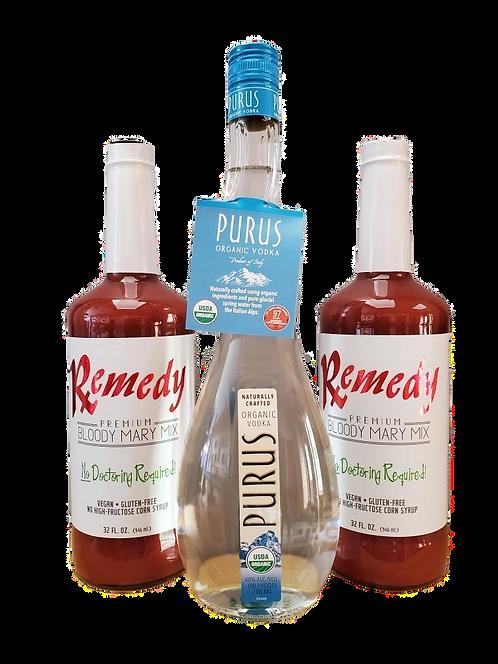 Bloody Mary Kit w/ Purus Italian Organic Vodka