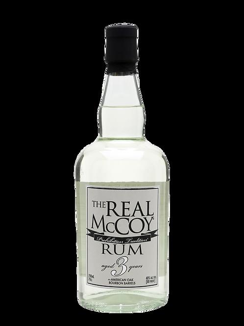 THE REAL MCCOY 3 YR SINGLE BLENDED RUM
