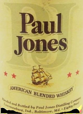 PAUL JONES AMERICAN BLENDED WHISKEY