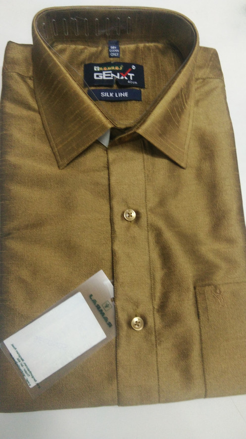 d319fc9b Ramraj Malabar Silk Cotton Shirt New Collection