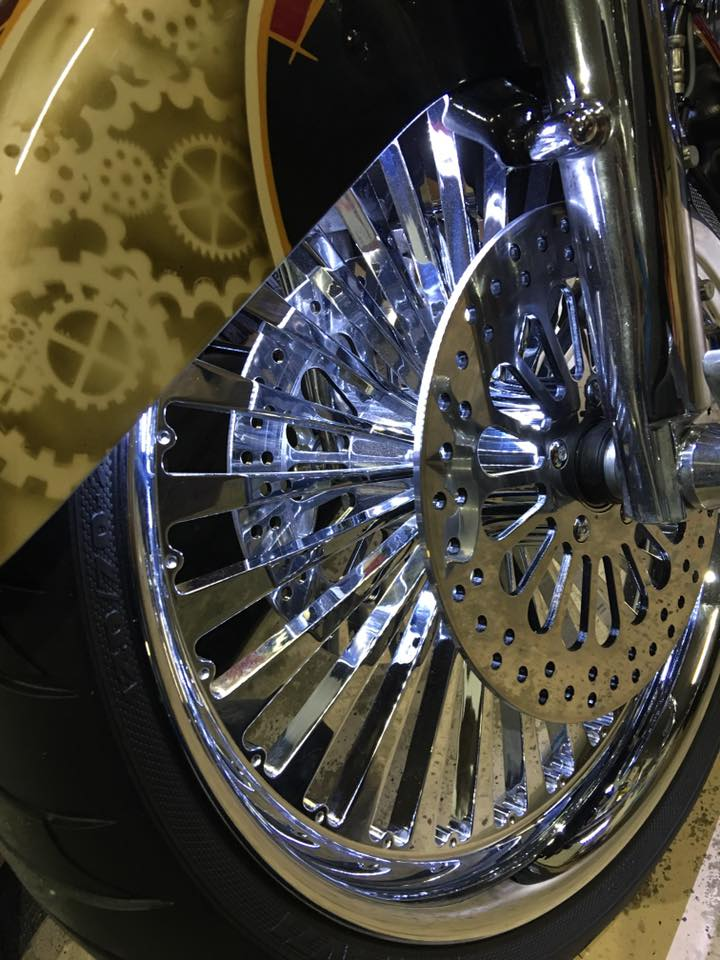 Bagger Boyz wheels chrome