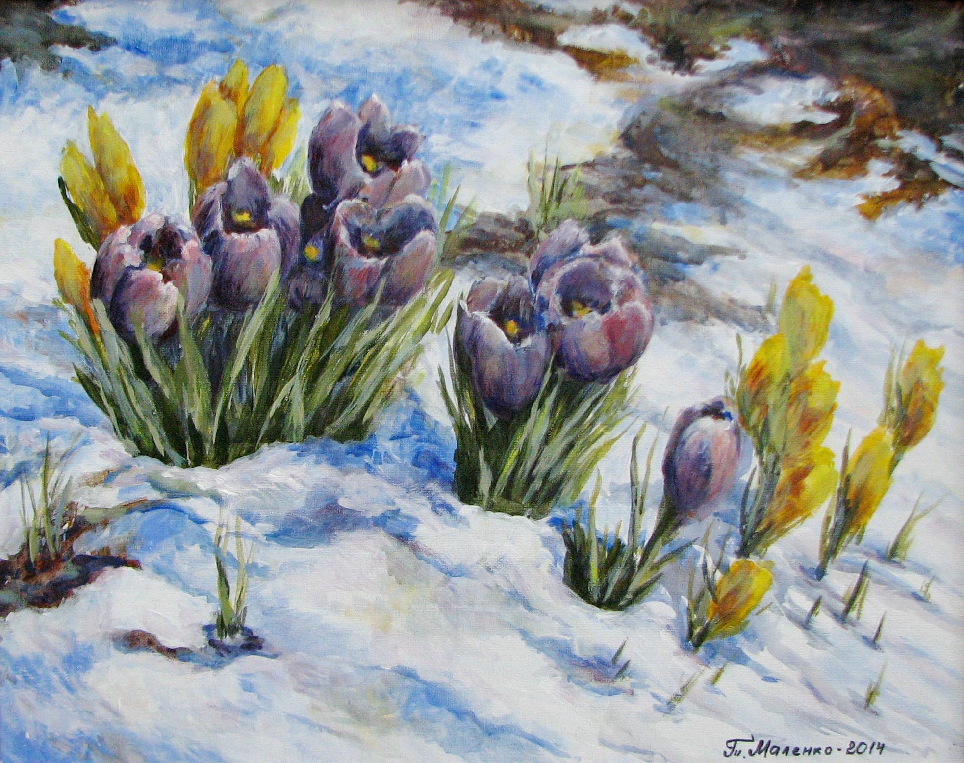 Маленко_Весна идёт2014