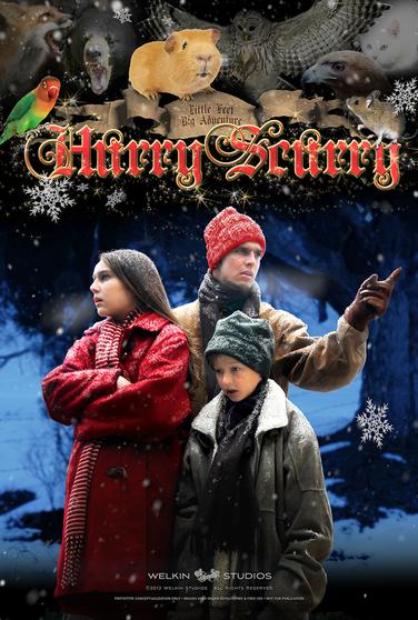 Hurry Scurry Christmas Original Film Poster