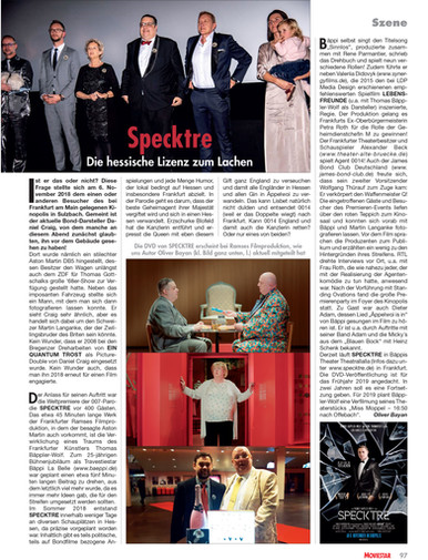 SPECKTRE - Moviestar Artikel