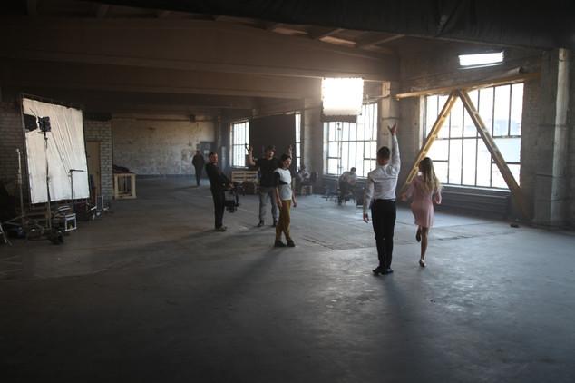 Tanzcentrum - Dreharbeiten