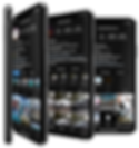 mockup-of-several-iphone-xs-standing-lik