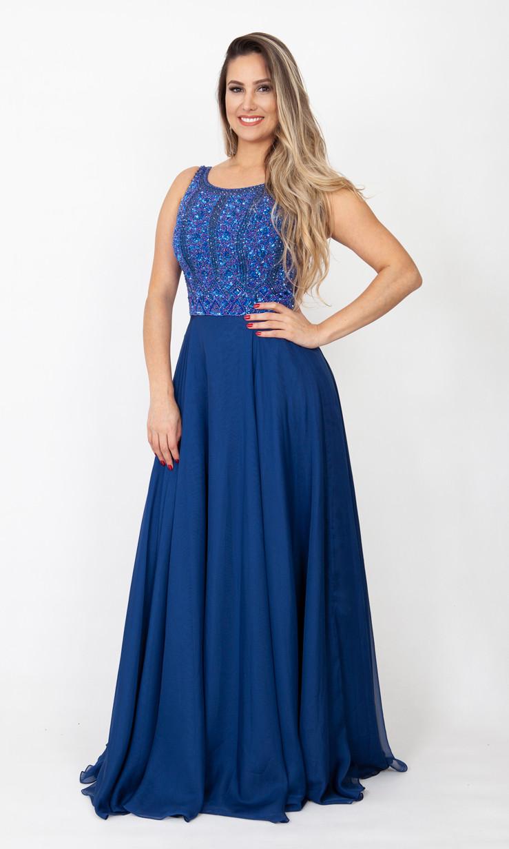 Vestido azul tiffany em osasco