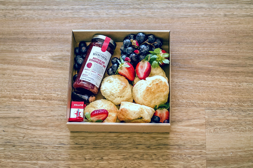 Brunched Soft Crumbly Scones Box
