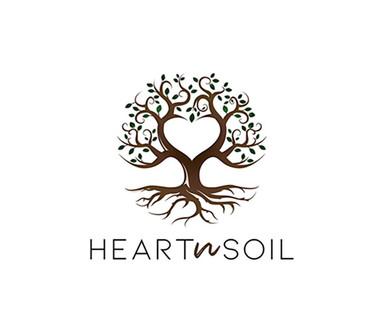 HEART N SOIL LOGO DESIGN