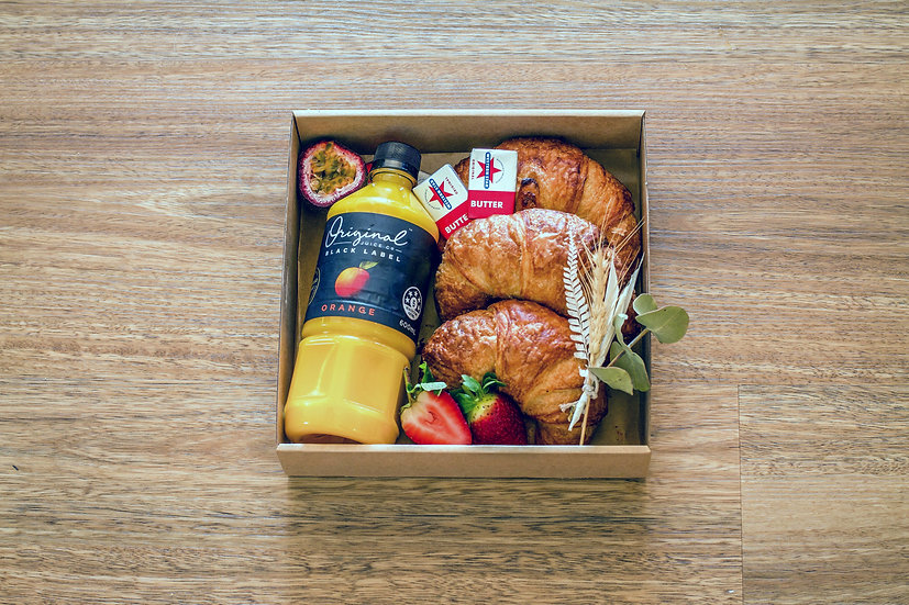 Brunched Butter Me Up Croissant Box