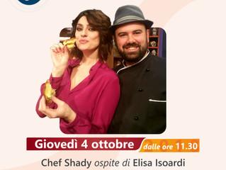 """Chef Shady torna protagonista de """"La prova del cuoco"""""""