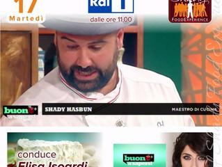 La cucina e i formaggi aretini tornano in vetrina su Rai Uno