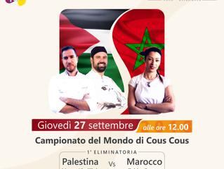 Chef Shady rappresenterà la Palestina ai mondiali di cous cous