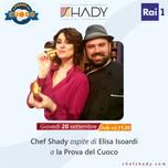 """Chef Shady entra nello staff di cuochi de """"La prova del cuoco"""""""