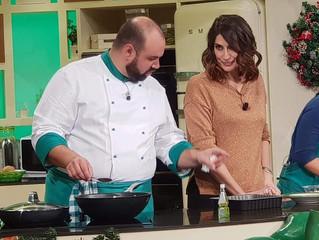 """Chef Shady porta la cucina maremmana a """"La prova del cuoco"""""""