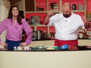 """Il novembre de """"La prova del cuoco"""" prende il via con chef Shady"""