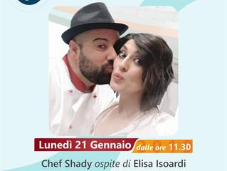 """Chef Shady su RaiUno nella sfida finale de """"La prova del cuoco"""""""