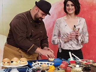 """Zero-spreco e internazionalità: chef Shady torna a """"La prova del cuoco"""""""