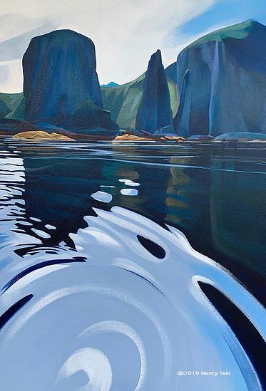 Paddle Back from Longshanks, Amlia Island, - Aleutians