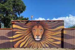 Lion Mural