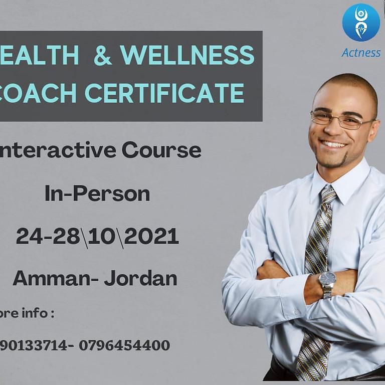 Wellness Coach Certificate