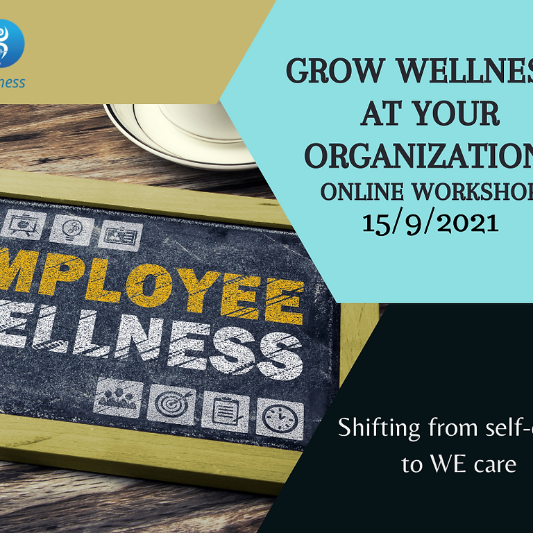 Grow Wellness At Your Organisation