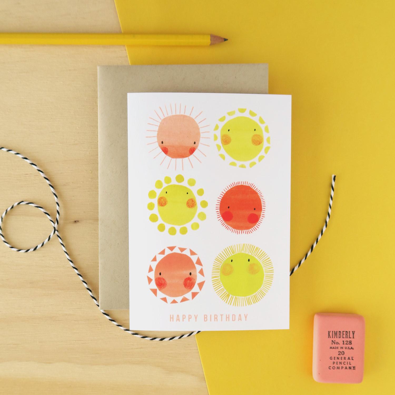 Collage illustration of happy sun