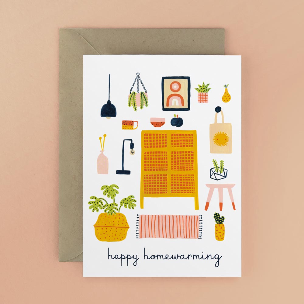 Happy home warming card