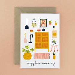 Happy home warming card
