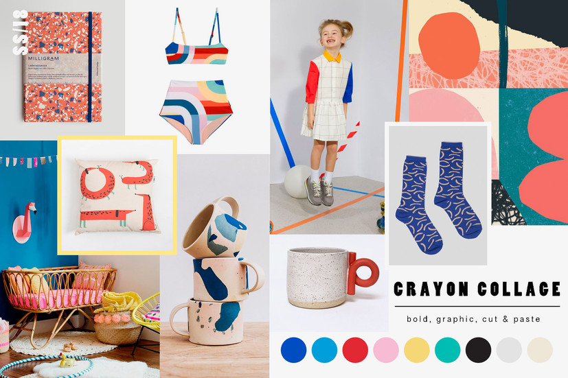 Trend Tip: Crayon Collage
