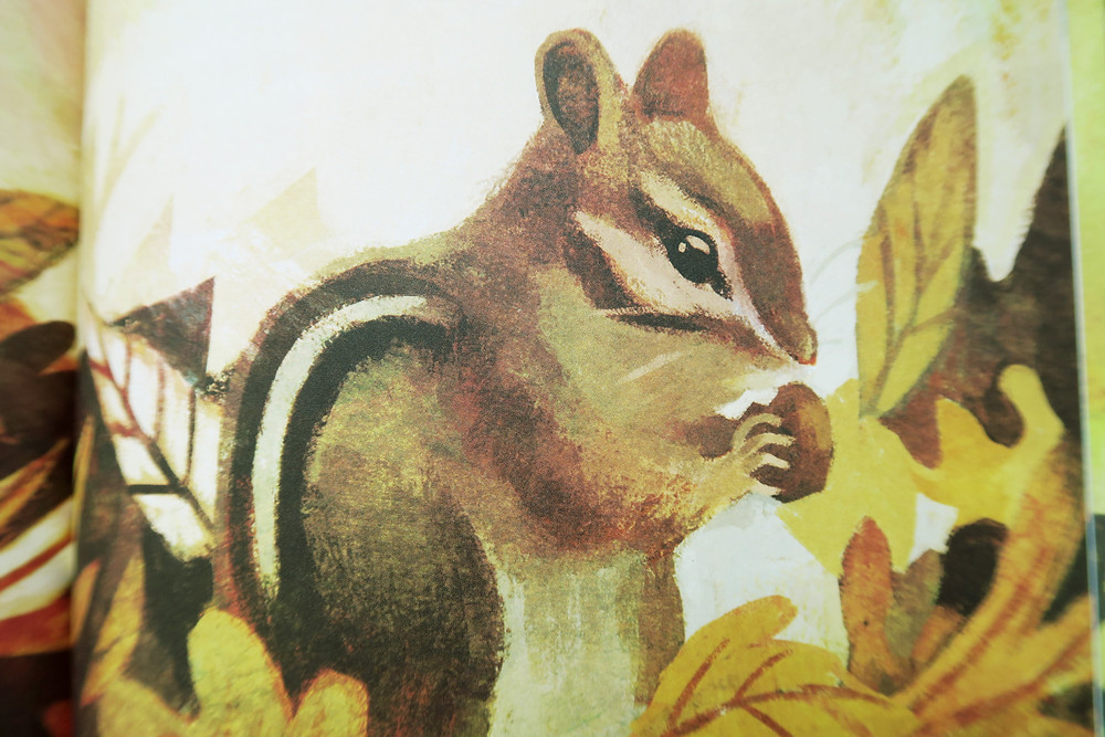 The Gold Leaf children's book artwork detail