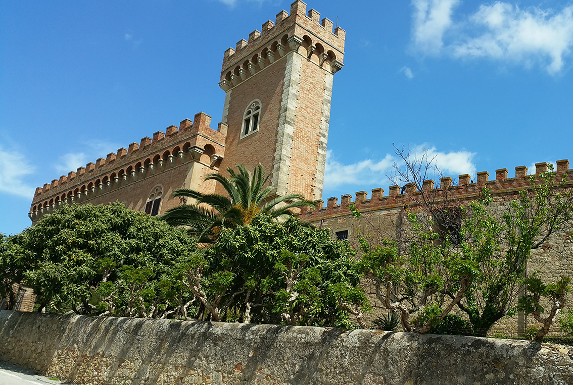 Mideival Tuscan tower