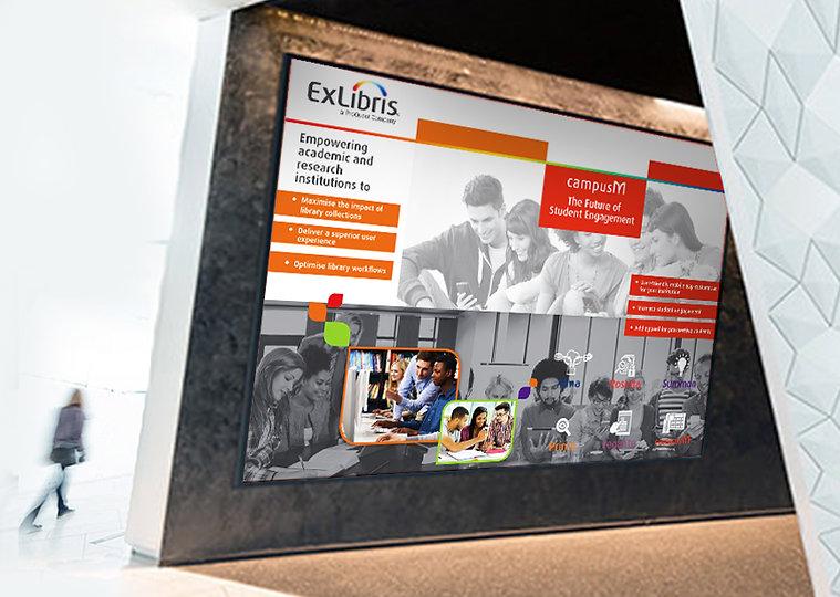 ExLibris CampusM posters in situ.jpg