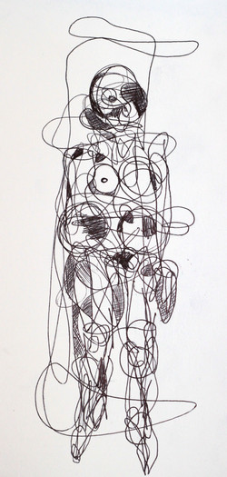 Continual-line drawing - 2