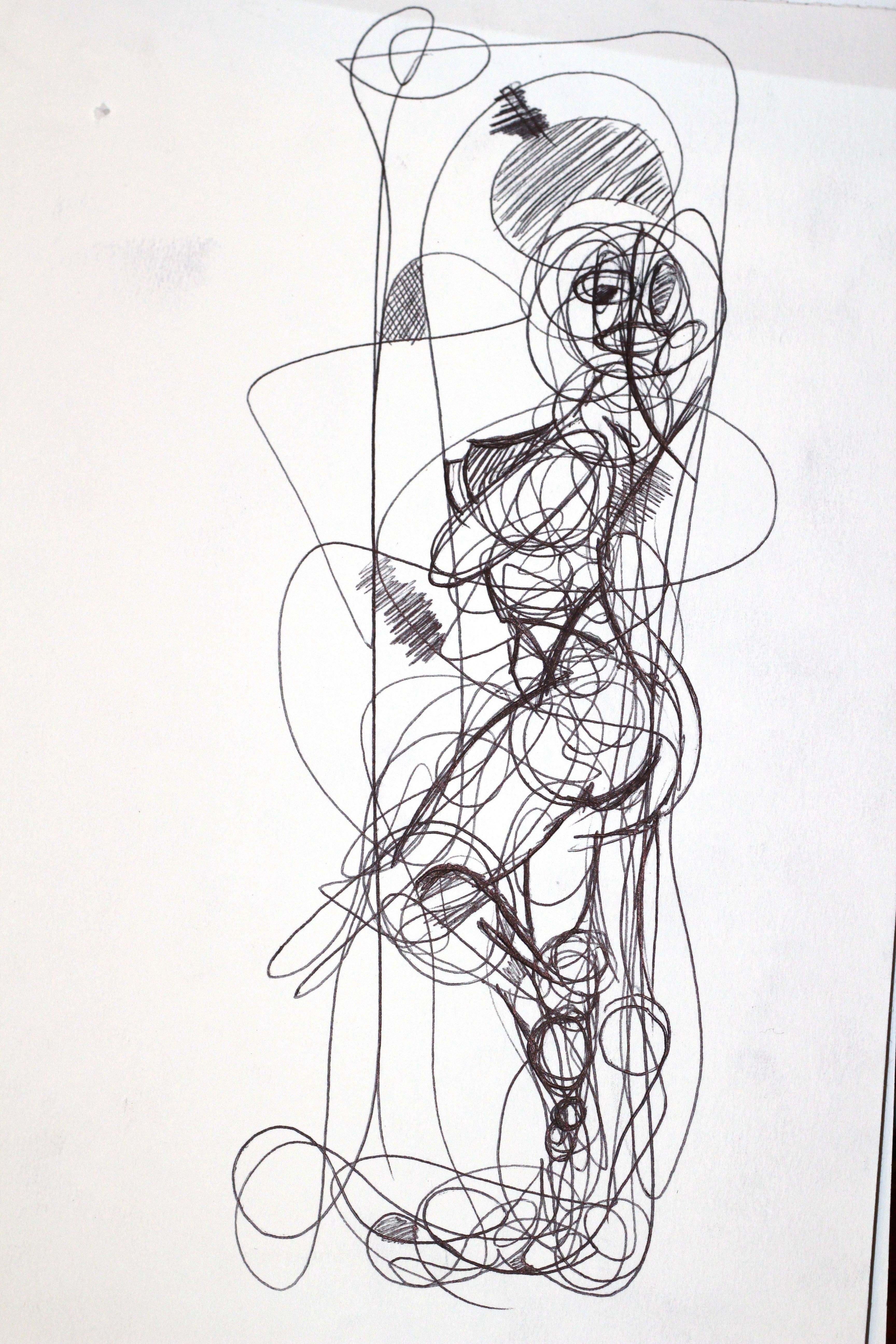 Continual-line drawing - 3