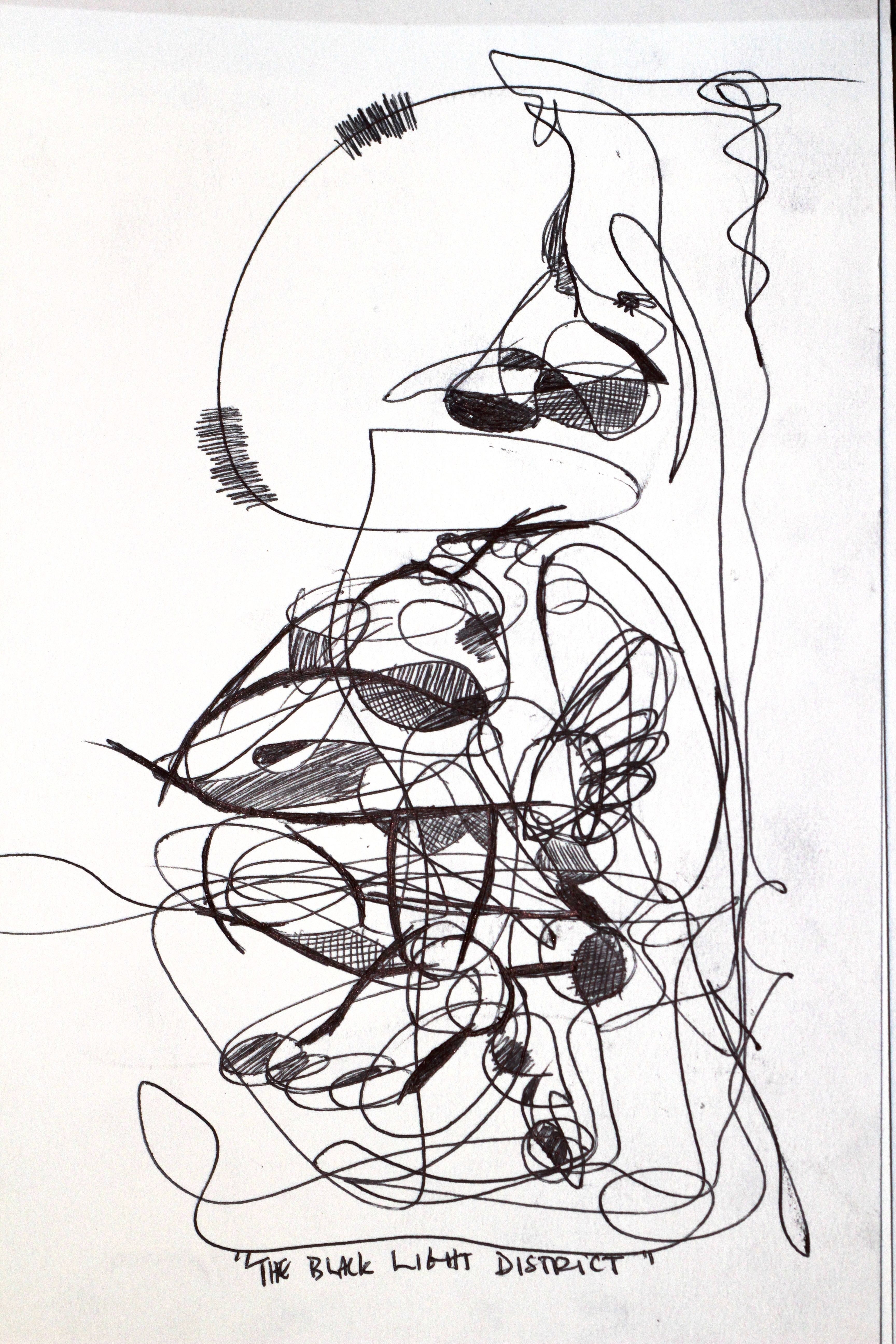 Continual-line drawing - 5