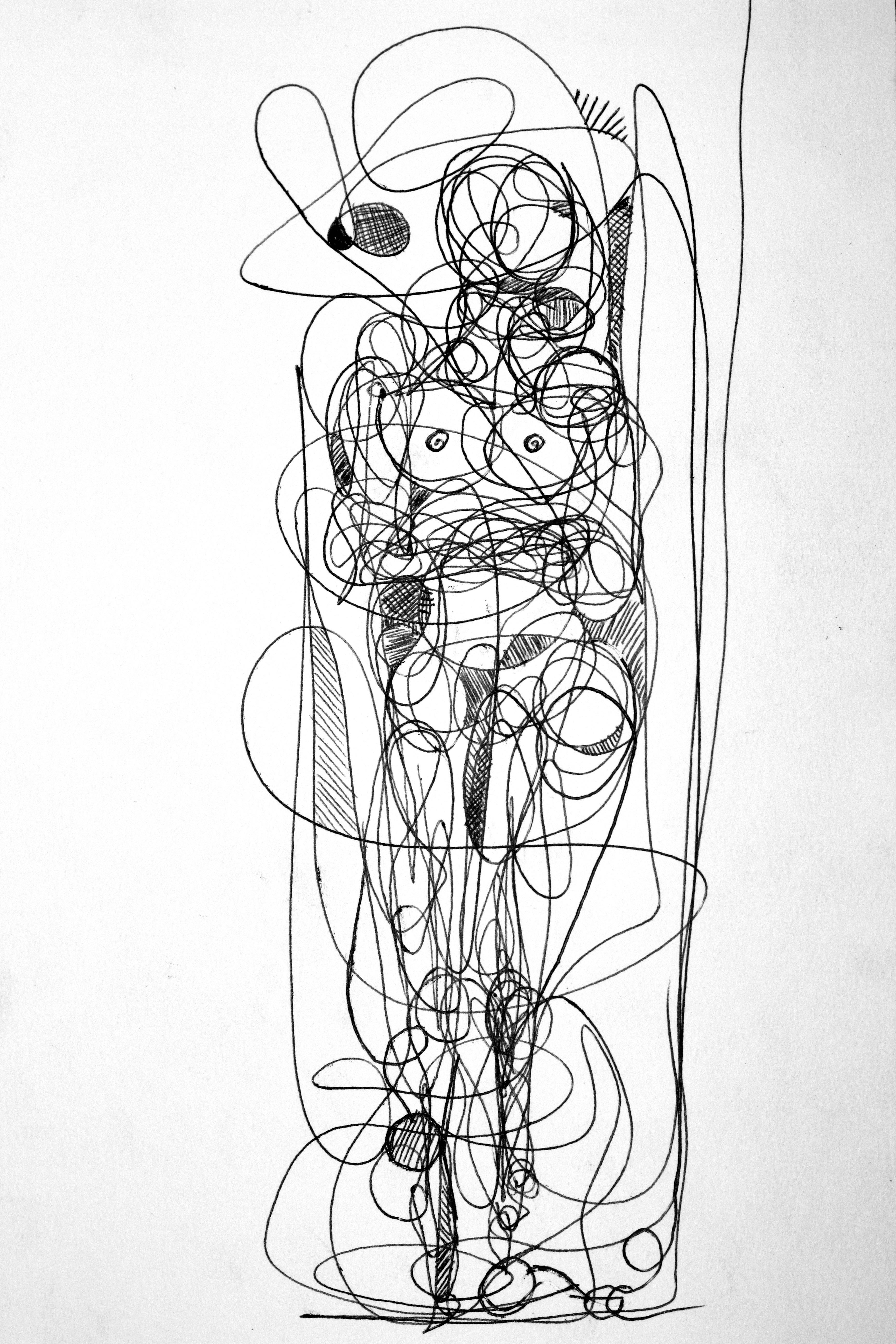 Continual-line drawing - 4