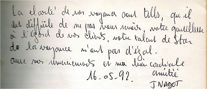 Témoignage Voyance Danielle Lacroix 1992