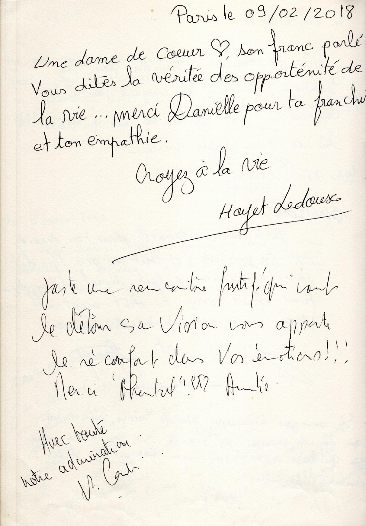 Témoignage Danielle Lacroix Voyante